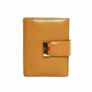 Gucci brown smooth leather Agenda Notebook Cover
